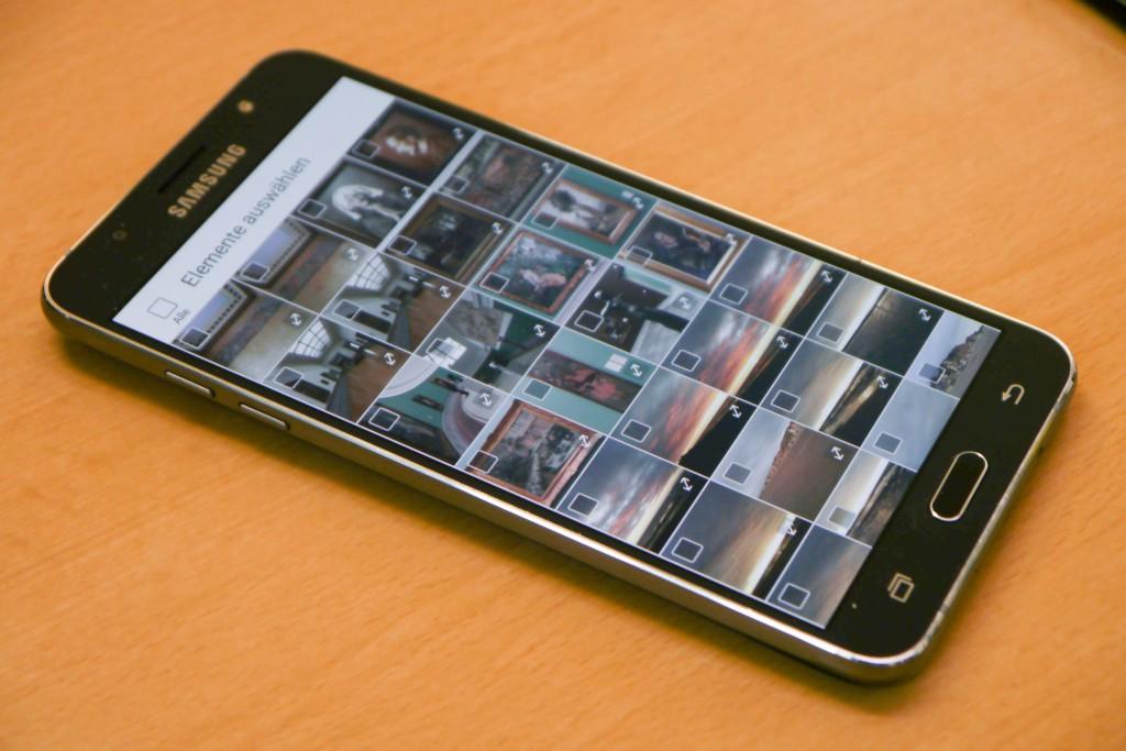 Bilder vom IPhone, Android-Smartphone, Tablet etc.